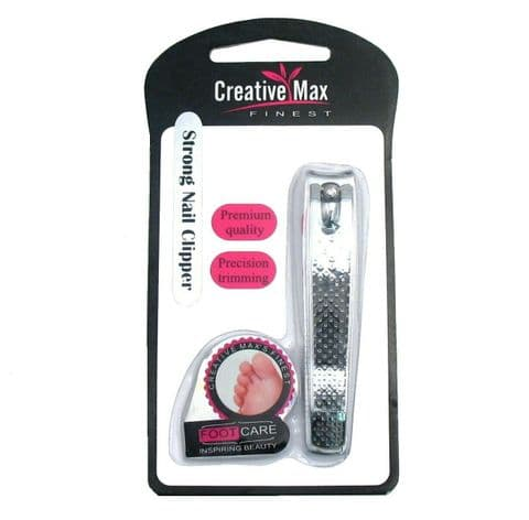 Creative Max Finest - Strong  Stainless Steel Nail Clippers